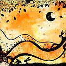 The orange world of bunny McGee by Hannah Chapman