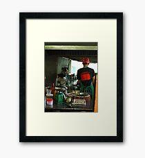Thai Cooking Framed Print