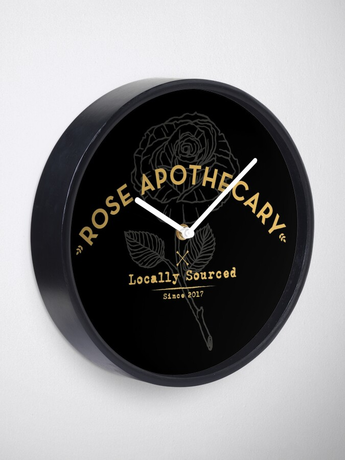 Alternate view of Dark Rose Apothecary Clock
