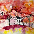 «árboles en flor» de Marianna Tankelevich