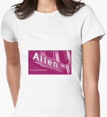 Allen Avenue1, Pasadena, California by MWP Fitted T-Shirt