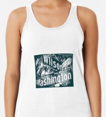 Wilson Avenue & Washington Boulevard1, Pasadena, CA by MWP Racerback Tank Top
