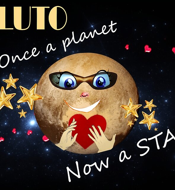 Pluto's Promotion by Nadya Johnson