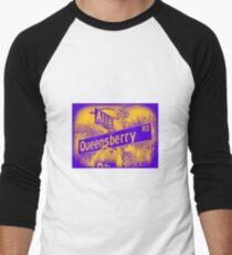 Allen Avenue & Queensberry Road, Pasadena, CA by MWP Baseball ¾ Sleeve T-Shirt