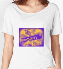 Allen Avenue & Queensberry Road, Pasadena, CA by MWP Relaxed Fit T-Shirt