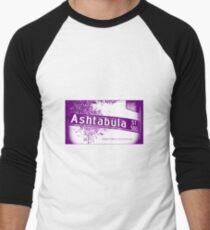 Ashtabula Street, Pasadena, CA by MWP Baseball ¾ Sleeve T-Shirt