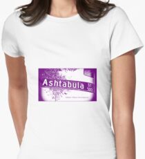 Ashtabula Street, Pasadena, CA by MWP Fitted T-Shirt