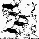 Carnivore Cave Painting by Artlife