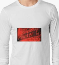 Painter Street1, Pasadena, CA by MWP Long Sleeve T-Shirt