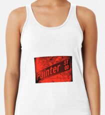 Painter Street1, Pasadena, CA by MWP Racerback Tank Top