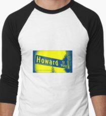 Howard Street, Pasadena, CA by MWP Baseball ¾ Sleeve T-Shirt