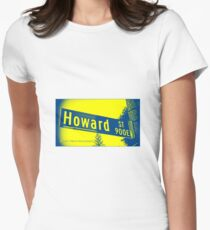 Howard Street, Pasadena, CA by MWP Fitted T-Shirt