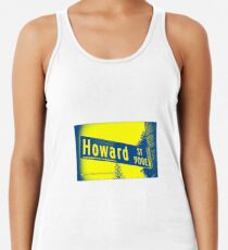 Howard Street, Pasadena, CA by MWP Racerback Tank Top