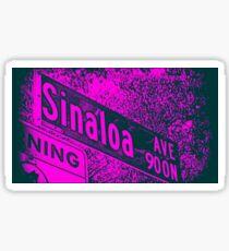 Sinaloa Avenue1, Pasadena, CA by MWP Sticker