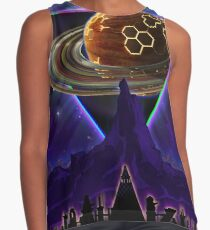 Summon the Future - Synthwave Blade Runner Future Sleeveless Top