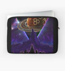 Summon the Future - Synthwave Blade Runner Future Laptop Sleeve