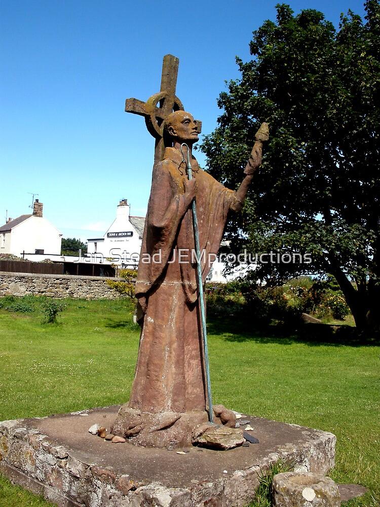 Saint Cuthbert of Lindisfarne by Jan Stead JEMproductions