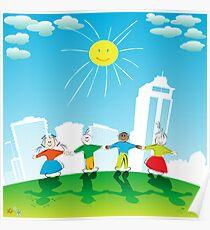 Happy kids Poster