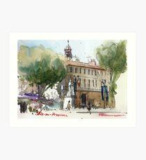 Aix-en-Provence, France Art Print