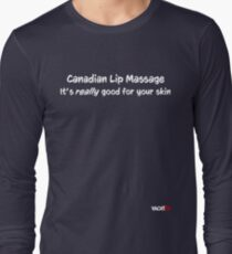 Canadian Lip Massage Long Sleeve T-Shirt