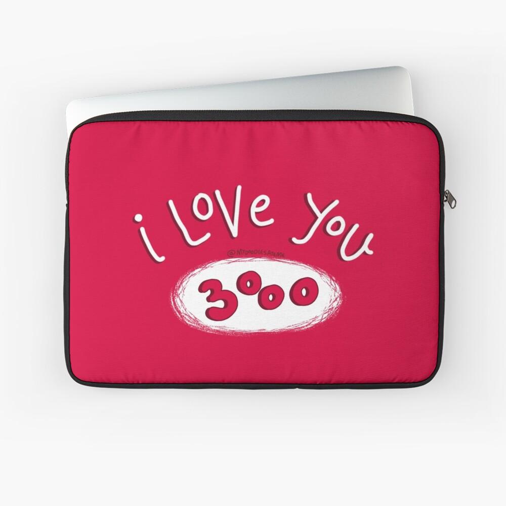 I love you 3000 - Endgame Laptop Sleeve