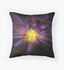 Light Encompassed Throw Pillow