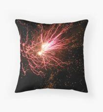 Fireworks in Kilrush Throw Pillow