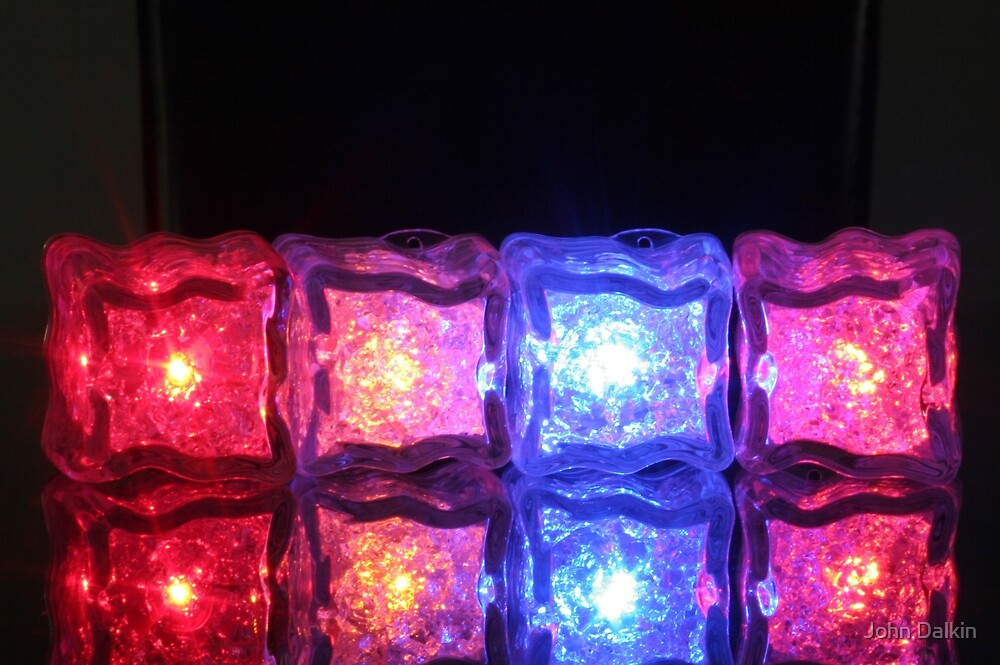 Ice Cube Colours by John Dalkin