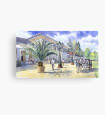 Baden-Baden Kurhaus Casino Germany Canvas Print
