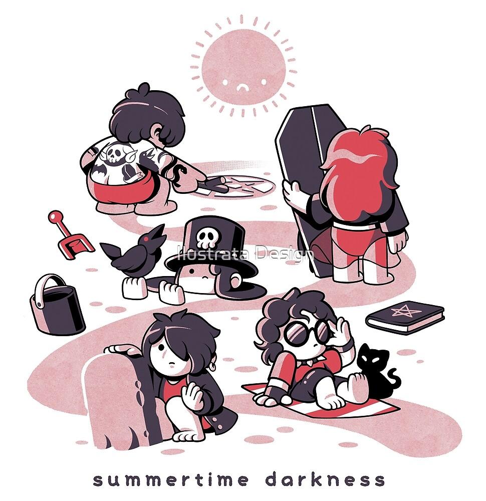 Sommerzeit Dunkelheit von Ilustrata Design