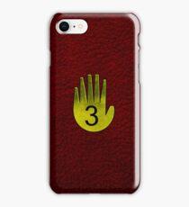 Journal Three iPhone Case/Skin