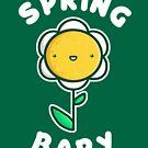 Spring Baby - Kawaii Spring Daisy by perdita00