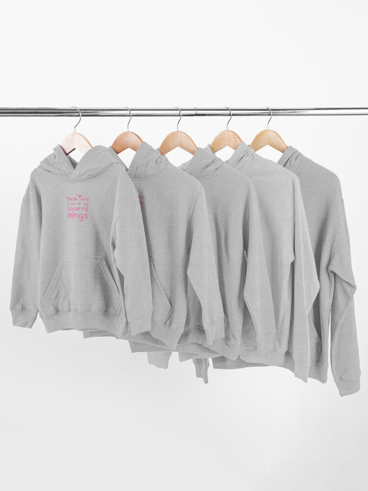 Alternate view of These are a few of my favourite things Kids Pullover Hoodie