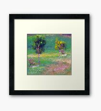 Rest a while Framed Print