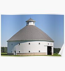 Round Barn-Albany, Indiana Poster