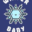 Winter Baby - Kawaii Winter Snowflake by perdita00