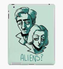 Aliens? iPad Case/Skin
