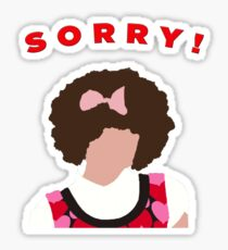 Sorry! Gilly Sticker