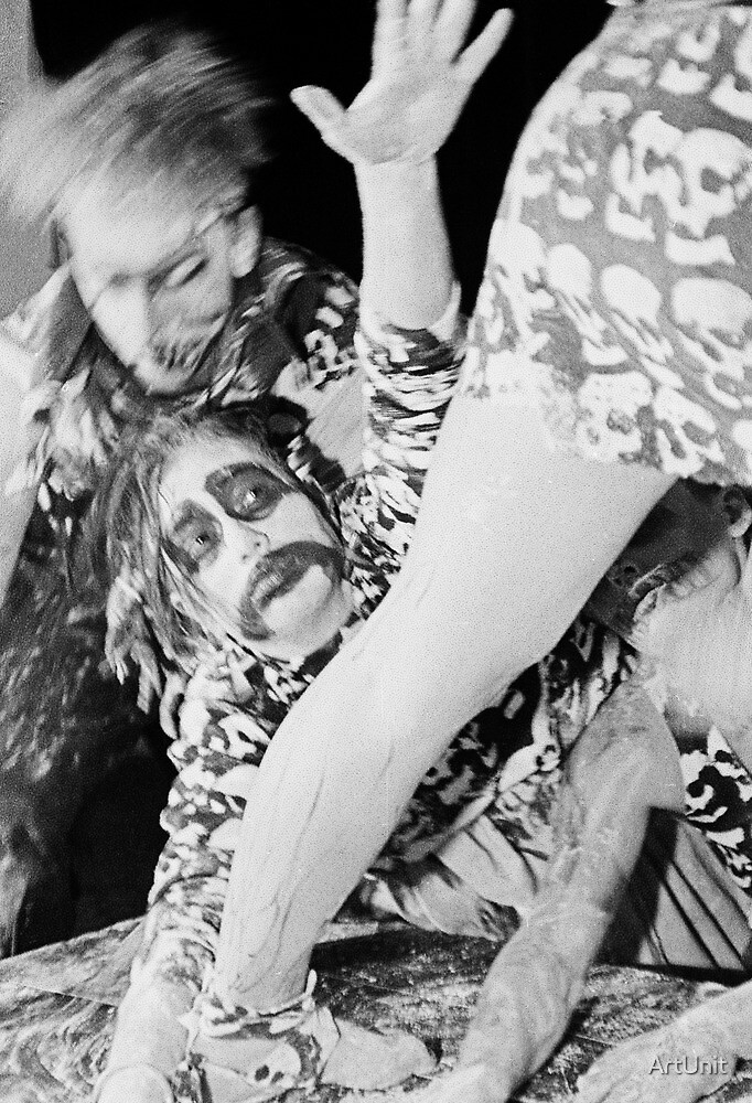 Dead Eyes Open ... a video shoot for Severed Heads at Art Unit 1983 by ArtUnit