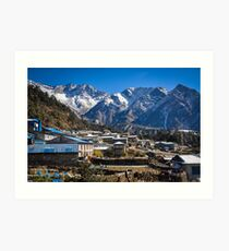 Village at the End of the World Art Print