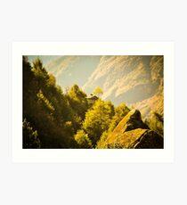 Himalayan House Art Print