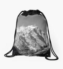 Nepal- The Might Himalayas Drawstring Bag