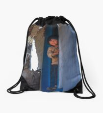 Nepal- The Little Boy Drawstring Bag