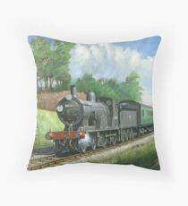 British Railways T9 4.4.0 Throw Pillow
