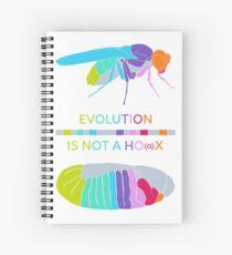 Drosophila Hox Genes - Evolution is not a Ho(a)x Spiral Notebook
