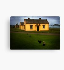 Engineers Office Canvas Print