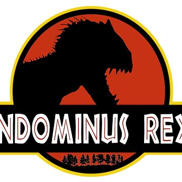 INDOMINUS REX - LARGE GRAPHIC by JamesBengel