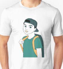 Grün verspielt Slim Fit T-Shirt