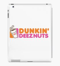 Dunkin Deeznuts iPad Case/Skin