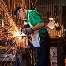 The Blacksmith by Justin Baer